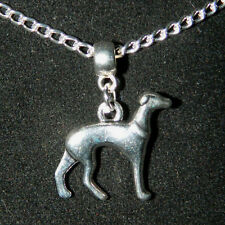"""Silver Great Dane Necklace : Charm Pendant 16"""" Chain : New Gift Buy 3 Get 1 Free"""