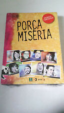"DVD ""PORCA MISERIA 1 PRIMERA TEMPORADA"" 4 DVD PRECINTADA JOEL JOAN"
