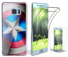 Galaxy NOTE 7 FE Transparent Slim 360 Full Body Protection Cover STAR SHIELD