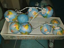 Paper Globe Party Lights
