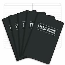 Field Notebookpocket Journal 35x55 Black Lined Memo Book Pack Of 5