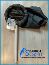 Parrot-Supplies Small Padded Bird Catching Net (20cm) with 30cm Wooden Handle
