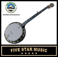 Deering Goodtime 2 Artisan Banjo Resonator Midnight Maple 5 String USA Made