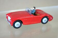 DINKY 103 AUSTIN HEALEY 100 CONVERTIBLE COUPE RED RESTORED mv