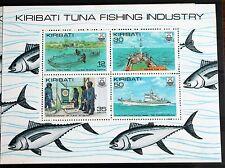 Kiribati – Tuna Fishing Set in Minisheet – Un.Mint (MNH)  (Se1)