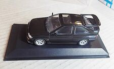 MIN 082100 MINICHAMPS 1:43 SCALE ~ FORD ESCORT COSWORTH ~ BLACK METALLIC