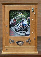 Nouveau TT Moto Course Allwin Vintage Rétro Penny Arcade Bryans Amusement MacHine