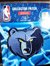 Official Licensed NBA Memphis Grizzlies Alternate Logo Iron or Sew On Patch