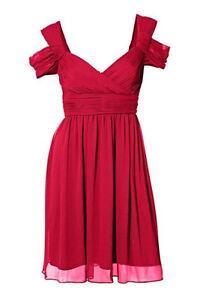 C.M. Schönes Sommerkleid/Kleid von ashley brooke, rot, Gr. 42 (°516)