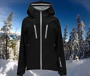 Spyder Womens Large Waterproof Ski Snowboarding Technical Shell Jacket $500