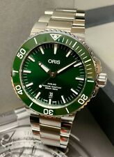 Oris Aquis Date Green Dial 01 733 7730 4157 BOX AND PAPERWORK 2019