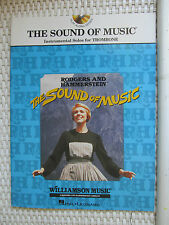 Partitions THE SOUND OF MUSIC Trombone Rodgers Hammerstein Williamson Music