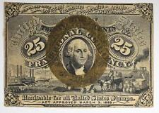 1863 25¢ Washington Fractional Currency Lot 446