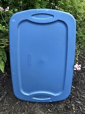 Sterilite Storage Tote Lid Cover Replacement Blue 1830N2-C