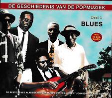 History Of Pop - BLUES   *2-CD* Muddy Waters,Robert Johnson,B.B. King   NEU&OVP!