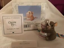 """Charming Tails """"YOU BRIGHTEN MY SMILE """" DEAN GRIFF NIB"""