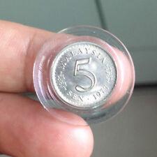 Malaysia Parliament coin 1977 5 sen very high grade! lustre??