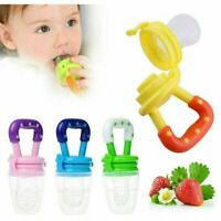 Pacifier/Teether Baby Feeder  (2 Pack), Fresh Food Feeding Teether for 6-12 MOS