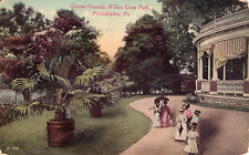 Casino Grounds, Willow Grove Park, Philadelphia, Pa., posted vintage pc