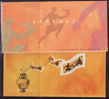bloc  souvenir   n° 2 ,Jeux Olympiques d' Athènes  2004