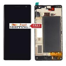 Para Nokia Lumia 730 735 Display LCD Pantalla Táctil Digitalizador montaje Marco Negro