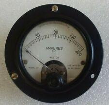 Weston DC Volts/Amperes Gauge Model 301