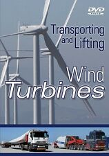 Transporting & Lifting Wind Turbines, Cranes, Articulated Lorry, DVD