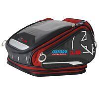 OXFORD X15 QR Tankbag Red Lifetime Motorcycle Luggage 15L - OL227
