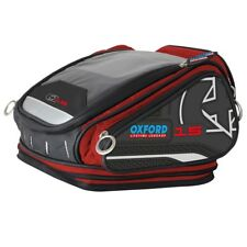 OXFORD X15 QR Tankbag Red Lifetime Motorcycle Luggage 15L - OL227