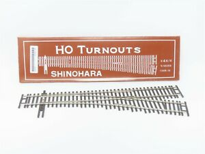 HO Scale Shinohara 302 Code 70 #4 Right Hand Turnout Track