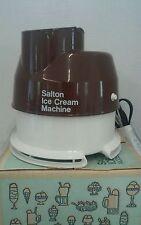 Vintage Salton Ice Cream Machine Model IC-4 with Instructions