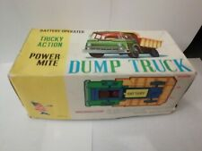 Marx Tricky Action Dump Truck