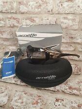 Arnette Sunglasses CHASER Made in Italy New Black/Gold