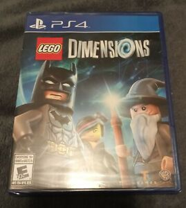 LEGO DIMENSIONS FACTORY SEALED PS4 GAME ONLY