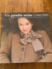 Rowan The Purelife Winter Collection Knitting Patterns by Marie Wallin