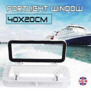 "16x8"" Boat Yacht Porthole Window Hole Portlight Hatch Marine Replacement Window"