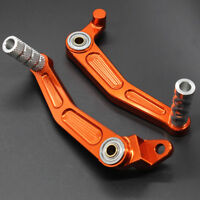 CNC Brake Clutch Gear Shift Pedal Lever For KTM DUKE125 200 390 2013-2014 Orange
