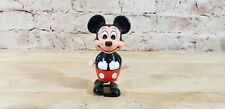Mickey Mouse Wind Up Toy Vintage Walking Tomy Walt Disney Productions