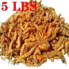 5lbs Freeze Dried Krill for Fish Tropicals Koi & Pond Fish Turtles Aquatic Foods