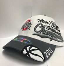 6e54cdee302 Ohio State University Hat 2011 Men s Big Champions Locker Room Basketball-  New