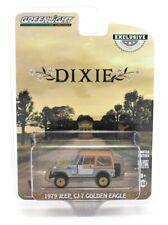 1:64 GreenLight THE DUKES OF HAZZARD Daisy's DIXIE Jeep CJ-7 *RAW GREEN MACHINE*