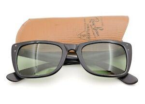 Vintage B&L Ray Ban Bausch & Lomb Early RB3 Ebony Caribbean Sunglasses w/Case