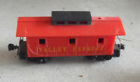 Vintage HO Scale Marx Red Valley Express Caboose Car