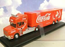 OXFORD 1/76 SCANIA T CAB COCA-COLA COKE CHRISTMAS TRUCK & TRAILER 76TCAB004CC