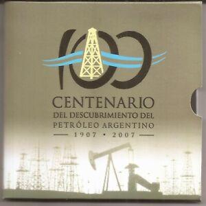 ARGENTINA BLISTER CONTIENE MONEDA DE 2 PESOS AÑO 2007 NUMERADO ONLY 5000 KM 145