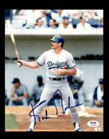Kirk Gibson PSA DNA Coa Hand Signed 8x10 Dodgers Photo Autograph