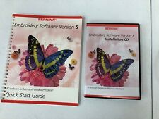 Bernina Embroidery Software 5 Installation Replacement Cd (No Dongle)