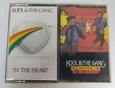 Lot Of 2 Kool & The Gang Cassette Tapes In The Heart / Emergency Tested '83 '84