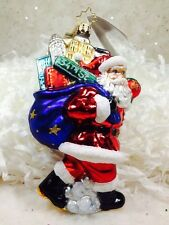 Radko Macy's 2011 NYC 34th St Santa Retired New York Ornament NWT 3012437