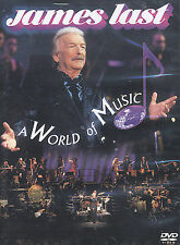 James Last - World of Music (DVD, 2003) CLEANED & TESTED ! w/ INSERT !